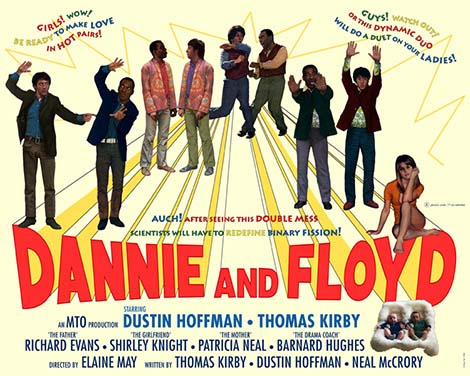 dannie and floyd poster